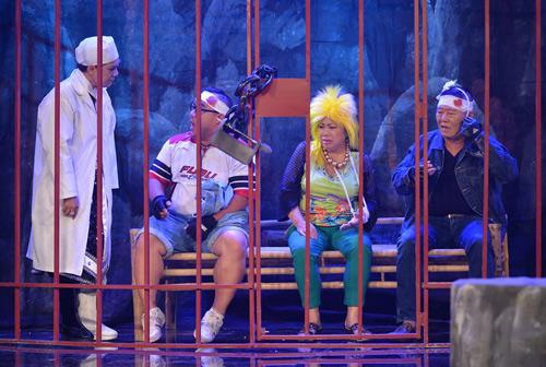 Minh Nhí, Đại Nghĩa hóa trang lập dị gây cười cho khán giả - 9