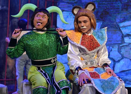 Minh Nhí, Đại Nghĩa hóa trang lập dị gây cười cho khán giả - 8