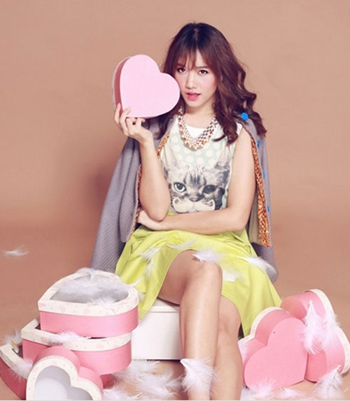 Hot girl Hariwon nhí nhảnh làm mẫu ảnh - 2