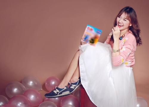 Hot girl Hariwon nhí nhảnh làm mẫu ảnh - 4