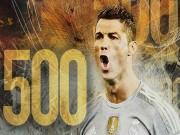 Bóng đá - Chùm ảnh: Ronaldo hân hoan trong ngày đi vào lịch sử