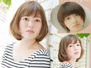 9 kiểu tóc ngắn cực xinh giúp thu gọn mặt thô, to