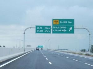 Tin tức Việt Nam - Phí cao tốc Hà Nội- Hải Phòng cao nhất 600.000 đồng/lượt