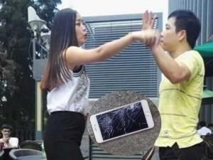 Bạn trẻ - Cuộc sống - Cô gái đập nát iPhone 6S chỉ vì giận bạn trai