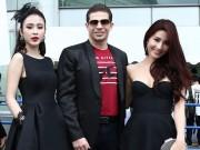Giải trí - Diễm My, Angela Phương Trinh diện 'cây' đen đi xem đấu võ UFC