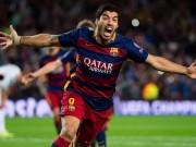 Bóng đá - Sôi động C1 1/10: Cứu Barca, Suarez được vinh danh