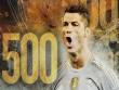Chùm ảnh: Ronaldo hân hoan trong ngày đi vào lịch sử