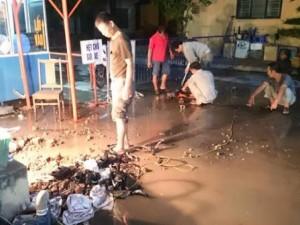 Vỡ đường ống nước: BV Phụ sản Hà Nội phải ngừng mổ