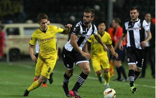 PAOK - Dortmund: Giải nguy đúng lúc - 1