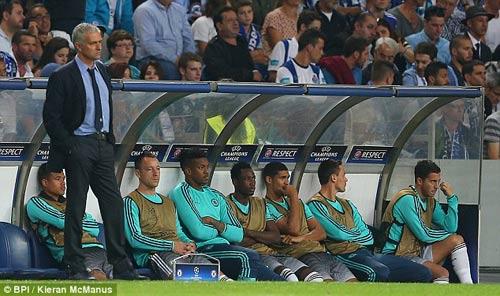 Dàn sao Chelsa sốc vì bị Mourinho chửi thậm tệ - 1