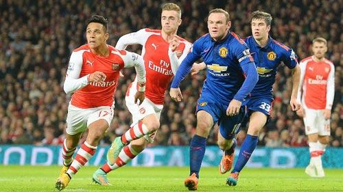 """Trước V8 NHA: Arsenal """"đại chiến"""" MU, Chelsea run rẩy - 1"""