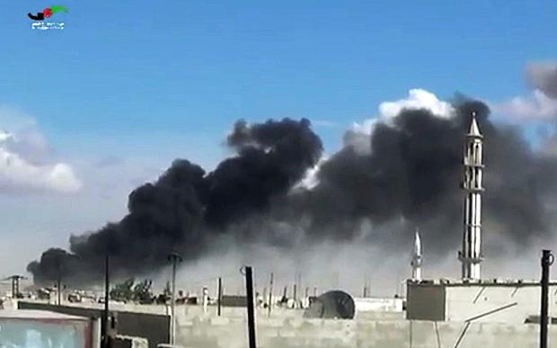 Nga công bố video hủy diệt sở chỉ huy, kho đạn của IS - 2