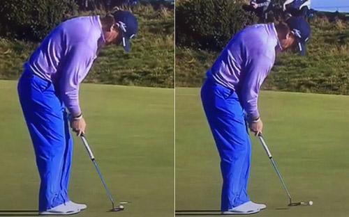 Huyền thoại golf tung cú đánh tệ nhất thế giới - 1