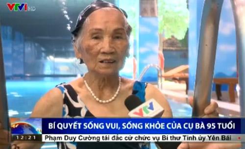 Bí quyết sống khỏe của cụ bà 95 tuổi ở Hà Nội - 1