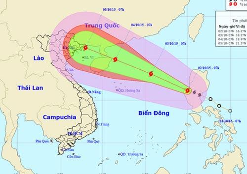 Phó Thủ tướng Hoàng Trung Hải họp khẩn ứng phó bão Cầu Vồng - 1