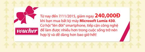 Lumia 430 và trải nghiệm hữu ích cho người dùng - 5