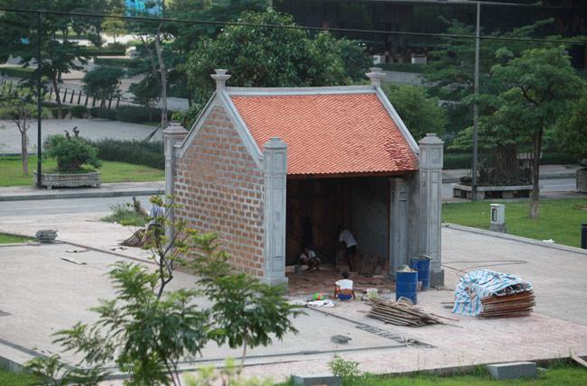 Ngắm cổng làng Mông Phụ, nhà Trường Lang giữa Thủ đô - 5