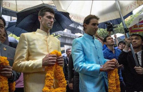 """Nadal tiếp tục """"ôm hận"""" trước Djokovic ở Thái Lan - 1"""