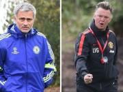 Bóng đá - Chẳng lẽ Mourinho nên học hỏi Van Gaal?