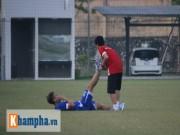 """Bóng đá - """"Ronaldo Việt Nam"""" vẫn chưa thể tập luyện trở lại"""