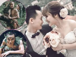 """Bạn trẻ - Cuộc sống - Ảnh cưới """"người rừng"""" cầu hôn thiếu nữ xinh đẹp"""