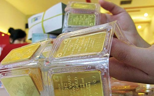 Giá vàng bật tăng, lấy lại mốc 34 triệu đồng/lượng - 1