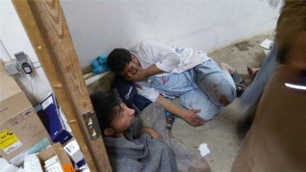 Mỹ bị nghi ném bom nhầm bệnh viện, 46 người thương vong - 2