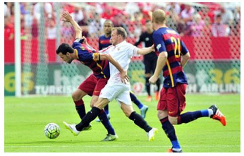 Sevilla - Barca: Nhớ Messi da diết - 1