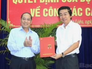 Tin tức trong ngày - Bí thư Tỉnh ủy Bạc Liêu làm Phó Ban Nội chính Trung ương