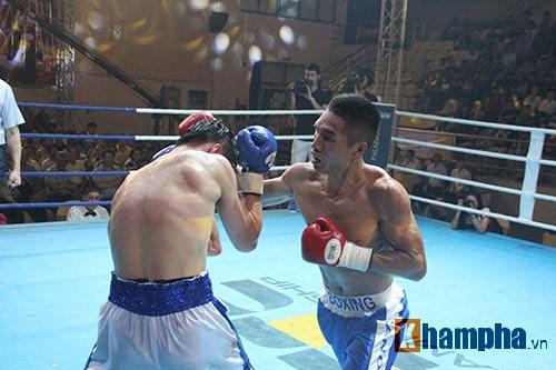 Boxing: Lừu Thị Duyên tung seri đòn hạ võ sĩ Hàn Quốc - 8