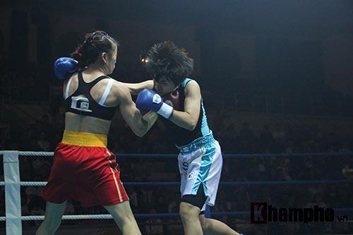Boxing: Lừu Thị Duyên tung seri đòn hạ võ sĩ Hàn Quốc - 5