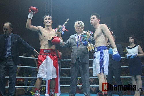 Boxing: Lừu Thị Duyên tung seri đòn hạ võ sĩ Hàn Quốc - 7