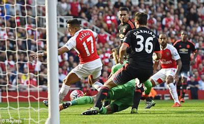 Chi tiết Arsenal - MU: Nỗ lực trong vô vọng (KT) - 3