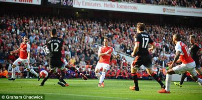 Chi tiết Arsenal - MU: Nỗ lực trong vô vọng (KT) - 4