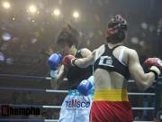 Thể thao - Boxing: Lừu Thị Duyên tung seri đòn hạ võ sĩ Hàn Quốc