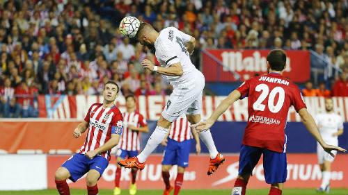 Atletico - Real: Vận may ngoảnh mặt - 1