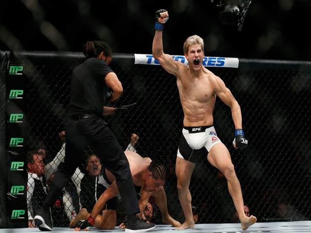 UFC: Đá trượt và cái kết đau lòng