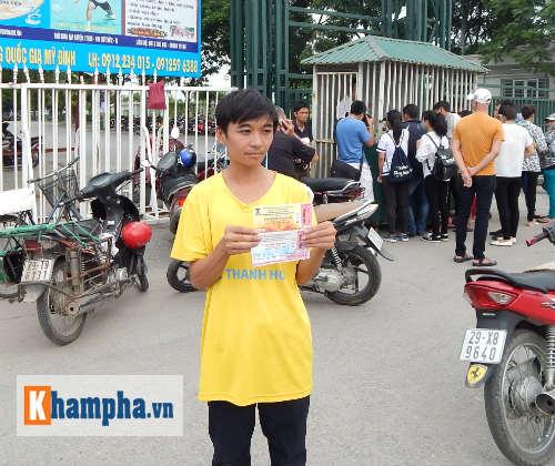 Đìu hiu người mua vé xem trận Việt Nam-Thái Lan - 4