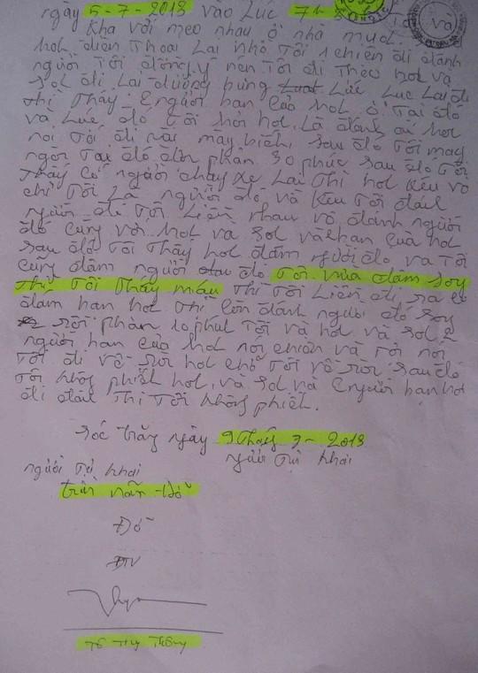 Dùng nhục hình ở Sóc Trăng: Luật sư trưng ra dấu hiệu sai lệch hồ sơ - 3