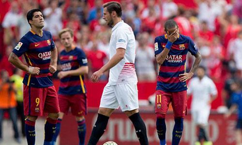 """Tiêu điểm V7 La Liga: """"Ngũ mã"""" cùng lùi - 1"""