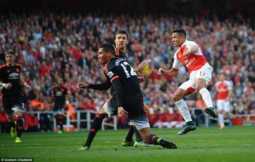 Arsenal - MU: Đòn sấm sét chỉ trong 20 phút - 1