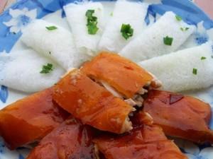 Ẩm thực - Món heo quay trong mâm lễ ở miền Tây Nam bộ