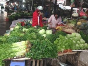 Tin tức trong ngày - Giật mình kết quả xét nghiệm hóa chất trong rau ở chợ