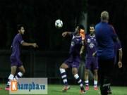 Bóng đá - Iraq tập kín giấu bài trước cuộc đối đầu ĐT Việt Nam