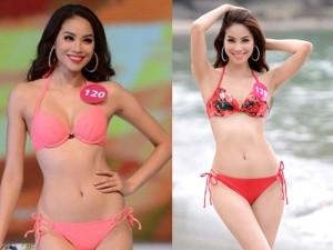 Vẻ đẹp nóng bỏng từng cm của tân hoa hậu Phạm Hương