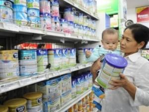 Giá sữa cho trẻ dưới 6 tuổi giảm 0,1-34%