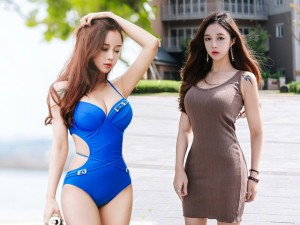 Ngẩn ngơ vẻ gợi cảm của hot girl đẹp nhất xứ Hàn