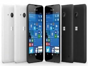 Lumia 550 có thể trang bị đèn flash cho camera trước