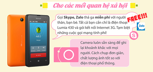 Lumia 430 và trải nghiệm hữu ích cho người dùng - 2