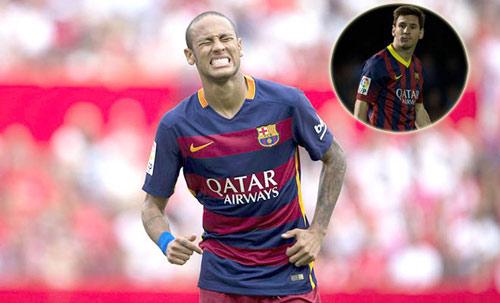 Neymar: Đừng cố gượng ép thay thế Messi - 2
